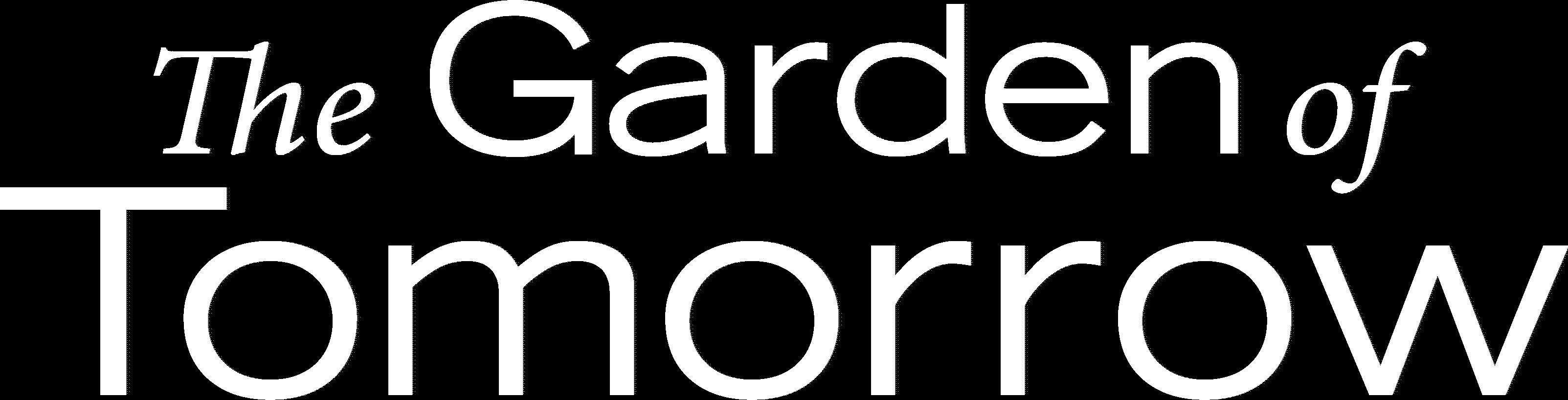Garden of Tomorrow Header Text